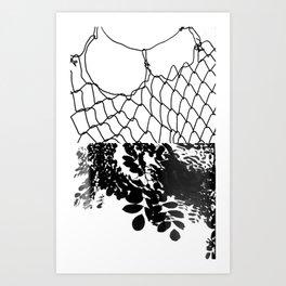collusion of spirit Art Print