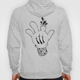 Careful who you point your finger at. Hoody