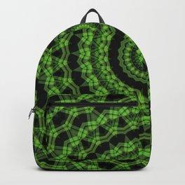Regardlossly Plaid Mandala 6 Backpack