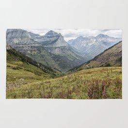 Splendor from Highline Trail - Glacier Rug