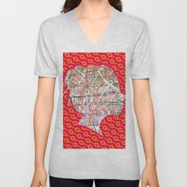 Flight of Color - Girl Unisex V-Neck
