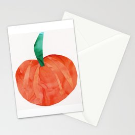 Pumpkin for Fall, October, Halloween Stationery Cards