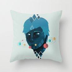 Mind/Space Throw Pillow