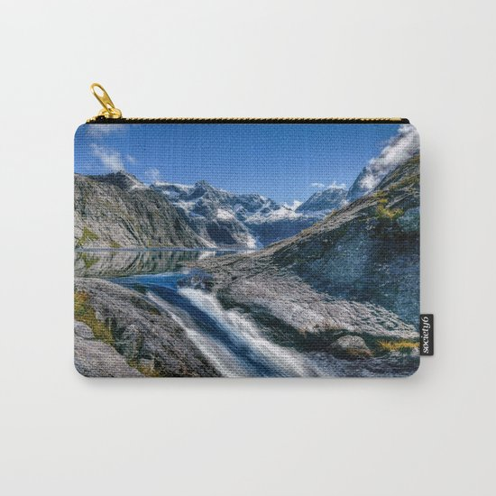 Mountain Creek #blue Carry-All Pouch