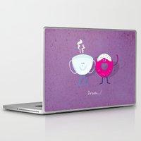 donut Laptop & iPad Skins featuring Donut by Tony Vazquez