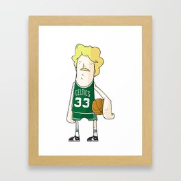 Larry Bird Framed Art Print