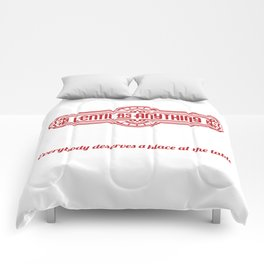 Everybody deserves Comforters