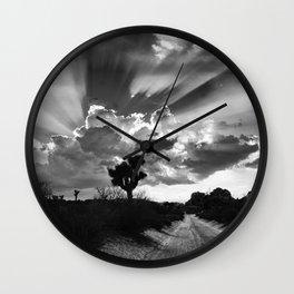 Joshua Tree, Illuminated. Wall Clock