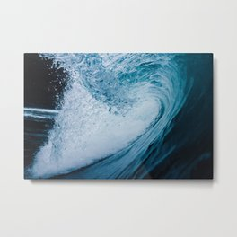 In The Barrel Of A Wave Tube Metal Print