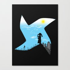 Playground Borders Canvas Print