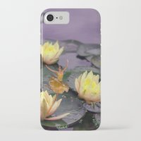 tinker bell iPhone & iPod Cases featuring tinker bell & tiger lilies by EnglishRose23