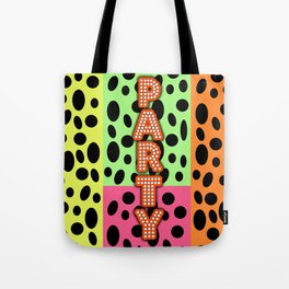 PARTY OF DOTS Tote Bag