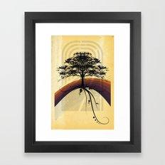 Going Inland Framed Art Print