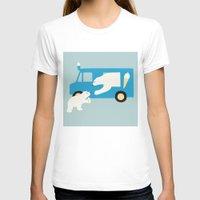 icecream T-shirts featuring ICECREAM by La Farme