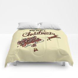 Pugs Christmas Comforters