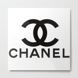 chanell logo Metal Print
