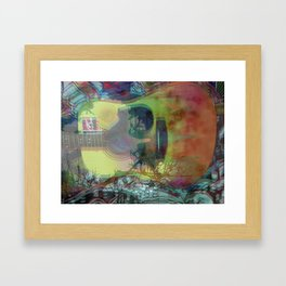 So Much Daze, So Little Sun Framed Art Print