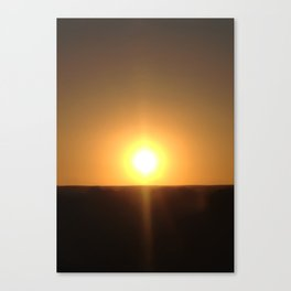 Sunset Seclusion Canvas Print