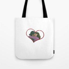 Lorelai and Luke Tote Bag
