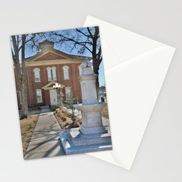 Cherokee Nation - Capitol in Tahlequah, No. 2 of 3 Stationery Cards