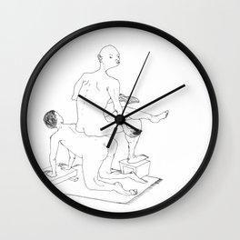 Comfortable? Wall Clock
