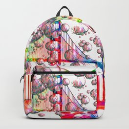 Golden Gate Bubbles Backpack