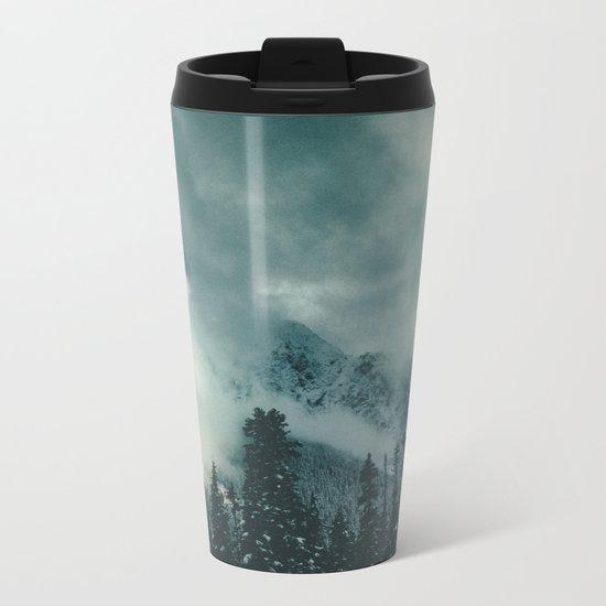 Mountain Majesty Metal Travel Mug