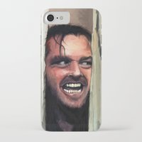fear iPhone & iPod Cases featuring Fear. by Emiliano Morciano (Ateyo)