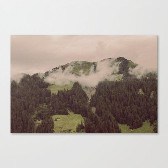 HAZY HILL Canvas Print