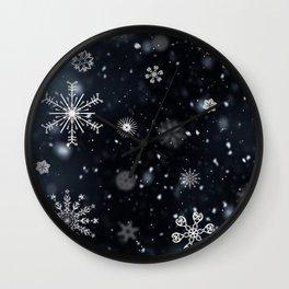 snowflake 1 Wall Clock
