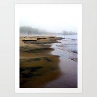 Silent Shores 13X19 High Quality Photographic Print  Art Print