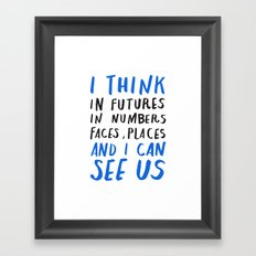 haiku #147 Framed Art Print