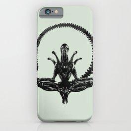 Meditation Alien iPhone Case
