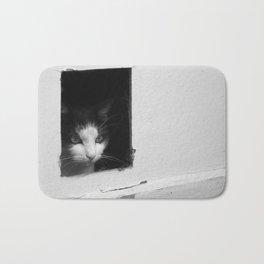 Cat In Door Bath Mat