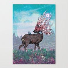 Companions Canvas Print