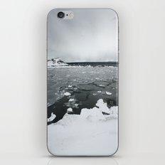 Ice on Lake Superior iPhone & iPod Skin