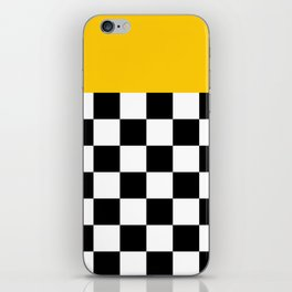 Marigold & Checkers iPhone Skin