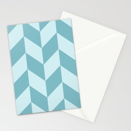 Parallelogram Pattern Stationery Cards