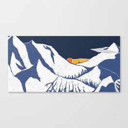 Mountain mysteries Canvas Print