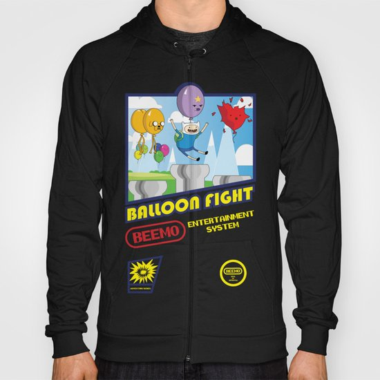 Adventure Time Balloon Fight Hoody