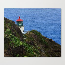 Makapuu lighthouse trail Canvas Print