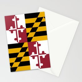 Flag of Maryland, High Quality image Stationery Cards