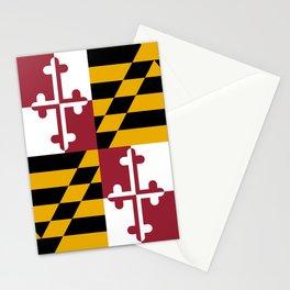 Flag of Maryland, High Quality image Stationery Cards