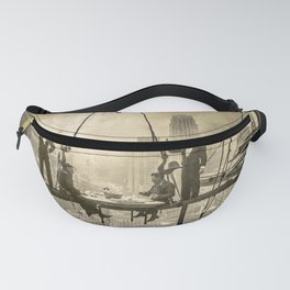 Sir, Where are your restrooms? Fanny Pack