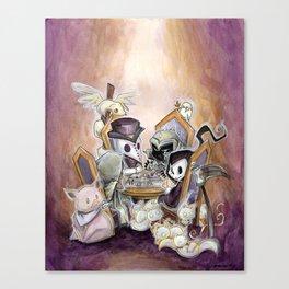 The Four Horsemen: Game night Canvas Print