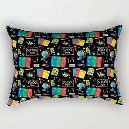 School Teacher Pattern Design Rectangular Pillow