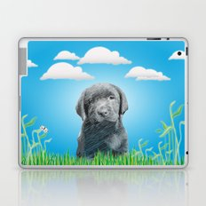 labrador puppy Laptop & iPad Skin