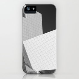 Cleveland Abstract Architecture Print iPhone Case
