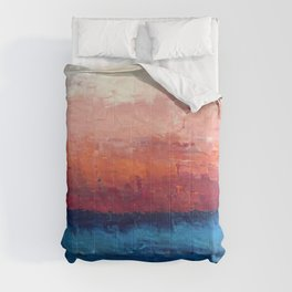 Abstract painting, Ocean Comforters
