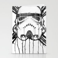 storm trooper Stationery Cards featuring storm trooper by ErDavid